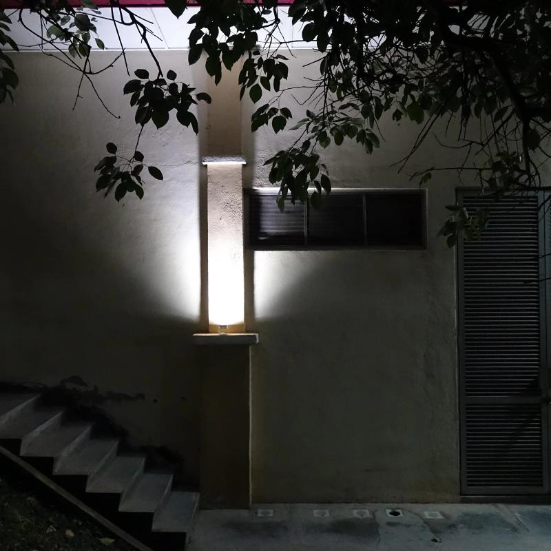 Industrial Lighting Applications: Alpha 180X Solar Flood Light